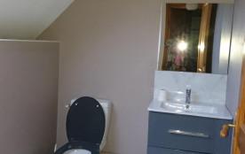 salle d'eau et WC a l'étage