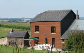 Gîte n°356à Lalobbe - à 24 Km de Rethel Maison indépendante avec point de vue sur pâturages et bo...