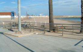 bord de plage à 4 minutes à pied