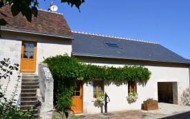 Gîtes de France - Dans la Vallée de la Cisse, au cœur des Châteaux, ancienne ferme sur 2 niveaux ...