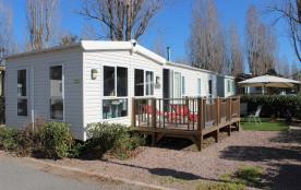 mobil-home 4* 8p dans village vacances idéal famille
