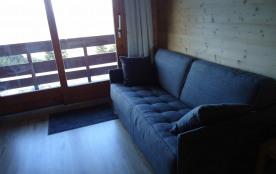 Méribel Mottaret  appartement  rénové 2 pièces + cabine 4-6 personnes , 35 m2 très belle vue sur la vallée.