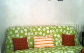 alcôve : canapé lit