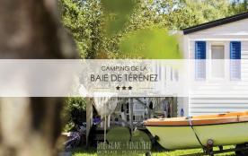 Camping La Baie de Terenez, 92 emplacements, 16 locatifs