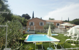 Grande villa avec piscine et spa