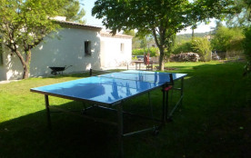 Ping-pong a l'ombre du Marronier