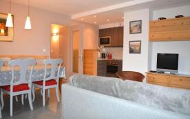Appartement 4 pièces de 70 m² environ pour 6 personnes, la Résidence Le Perceneige est située dan...