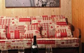 Arcs 1800: Appartement spacieux RE-AGENCE (3 pièces, 6/8 personnes) dans Résidence PIERRA MENTA- Vue Mont Blanc