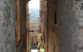 Ancient street in Gattieres village