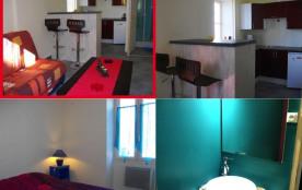 Appartement lumineux neuf T2 avec 1 chambre 20m du marché 100m du vieux port