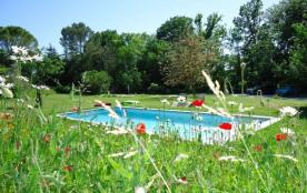 Gîte avec piscine, terrasses, en pleine nature à 5 min. du village de Sommières - Le Grand gîte 4...