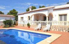 Location belle villa pour 6 avec piscine privée sur la Costa Blanca |caslo