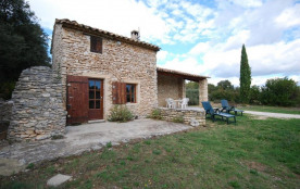 Gîtes de France - Cabanon indépendant et agrandi sur un grand terrain non clos de 7000 m² et terr...