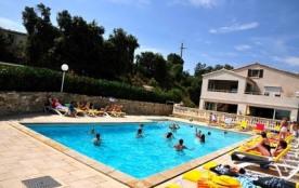 village de gîtes la Fontinelle site panoramique avec piscine chauffée - Bessas