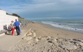 plage sud face à l océan en morte saison