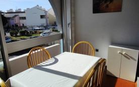 RAVISSANT STUDIO CABINE PISCINE LE GRAU DU ROI. Résidence FLORALIES 2 - Type : 1 pièce cabine ave...