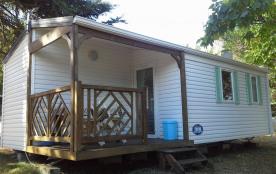 Mobil home tout confort avec piscine.Promotion du 1er au 15 juillet pour le passage du Tour de France