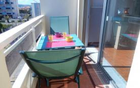 Port-la-Nouvelle (11) - Quartier plage - Résidence Les Amphores. Appartement 2 pièces - 35 m² env...