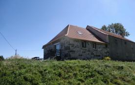 Gîtes de France - Gîte aménagé dans une ancienne ferme rénovée, avec très belle vue sur la montag...