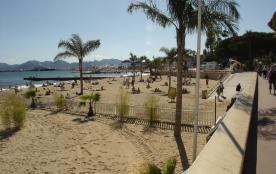 plage publique à 5mn à pied