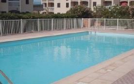 Saint Cyprien Plage (66) - Quartier La Lagune - Résidence Les Frégates. Appartement studio cabine...