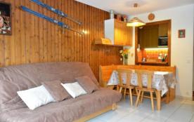 Studio de 25 m² environ pour 4 personnes, la Résidence Le Charvet est située à environ 200 m du c...