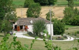 """Maison Clévacanes Art de vivre """"L'Angelau"""" à Belvèze pour 5 pers (Tarn-et-Garonne)"""