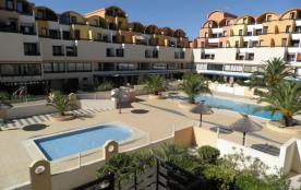 Gruissan (11) - Secteur port - Résidence les Dromadaires. Appartement 4 pièces en duplex - 53 m² ...