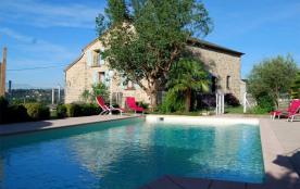 Gîtes de France La Fanette. La Fanette, vaste maison typiquement Ardéchoise située sur un terrain...