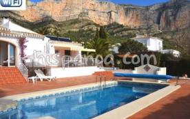Très jolie villa en location à Javéa sur la Costa Blanca  5019