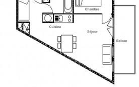 Appartement 2 pièces 4 personnes (05)