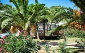 Camping le Soleil de la Méditerranée - Chalet 3Ch 6/8 pers Clim + Terrasse