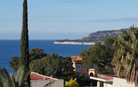 Vue sur la baie de Cassis, de la loggia.