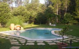 gite tout confort avec piscine dans propriété privé