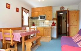 Appartement 2 pièces de 34 m² environ pour 6 personnes, la Résidence Le Champel est située dans l...