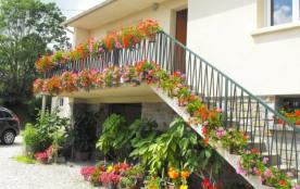 charmante maison fleurie 4 à 6 personnes - Lithaire