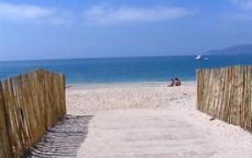 Vue plage Almanarre