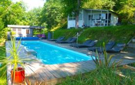Chalets du Moulin avec piscine chauffée près de Biarritz - La Bastide Clairence