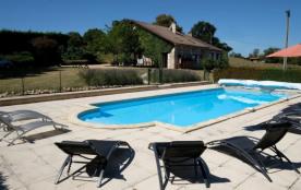 Maison de campagne avec piscine - Vaunac