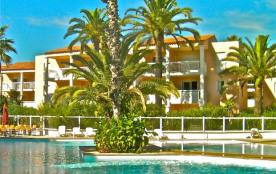 Juan-les-Pins : très calme 2 pièces proche de tout à pied, avec piscine et plages de sable à 250 m ! - Juan Les Pins
