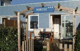 Villa T2 avec piscine chauffée et vue mer à Le Conquet - Portez.