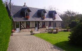 Gite à Honfleur, en Normandie, jusqu'à 5 personnes,   maison indépendante 3 étoiles, wifi - Ablon