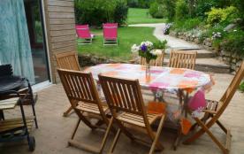 Table sur terrasse
