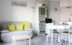 Appartement 1 pièce mezzanine - 27 m² environ - jusqu'à 4 personnes.