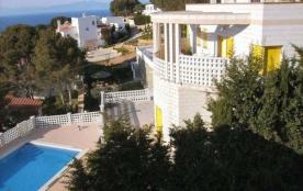 Villa avec vue mer, piscina privée et WIFI