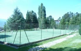 terrain de tennis de la résidence