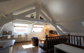 Appartement avec jardin - Vue mer - Centre-village - Barneville Carteret