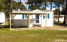 Mobil-Home de 30 m2 à 33930 Vendays-Montalivet (gironde)