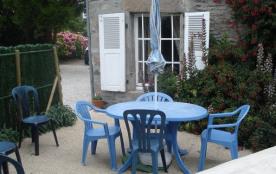 salon de jardin sur terrasse privative