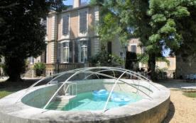 Manoir de la bastide : 17 personnes avec piscine